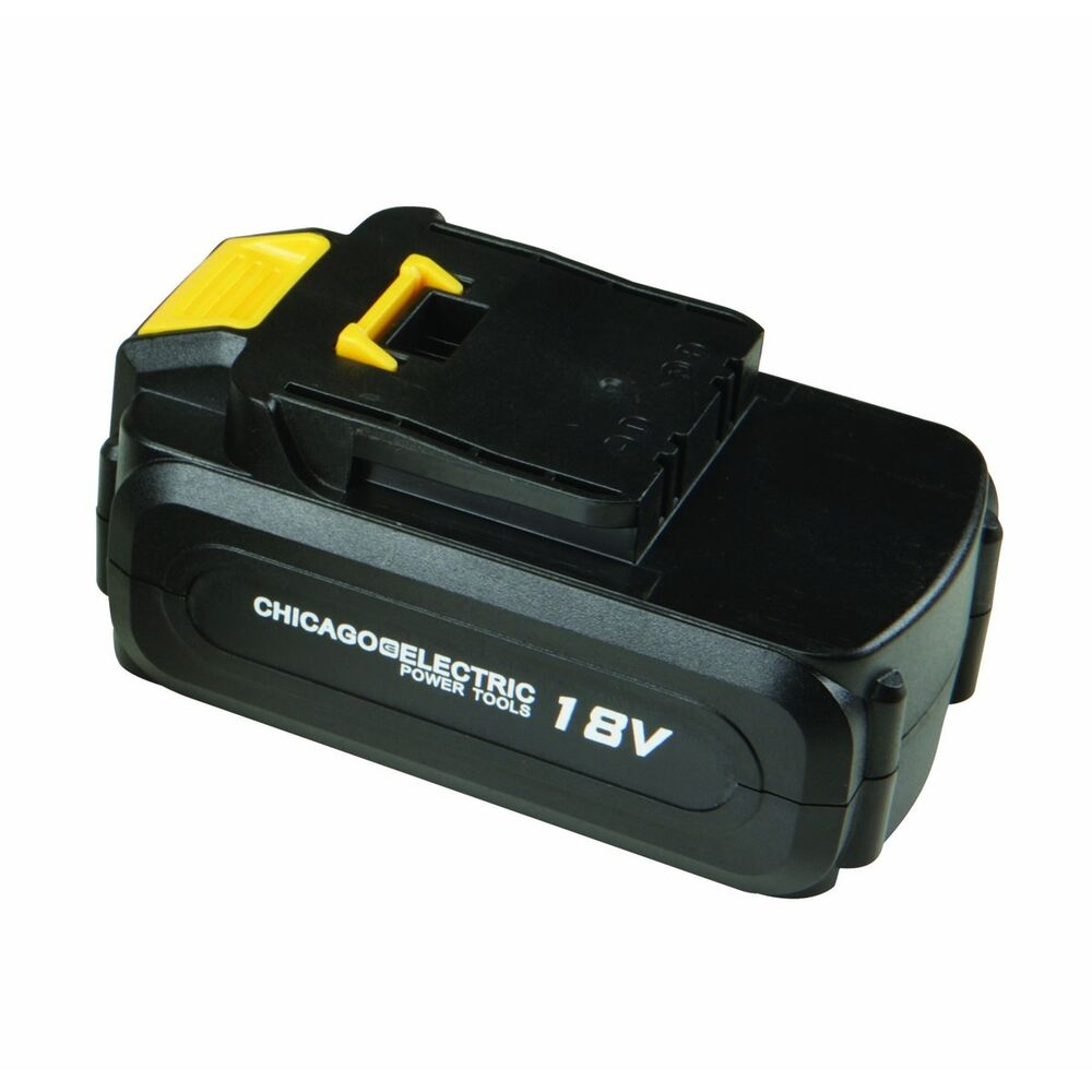 NiCd 18V Chicago Electric Power Tool Replacement Battery