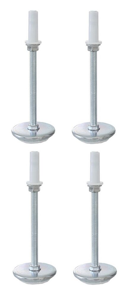 Universal 5 Quot Adjustable Height Bed Frame Risers Threaded