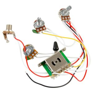Guitar Wiring Harness Kit 5 Way Switch 500k Pots for