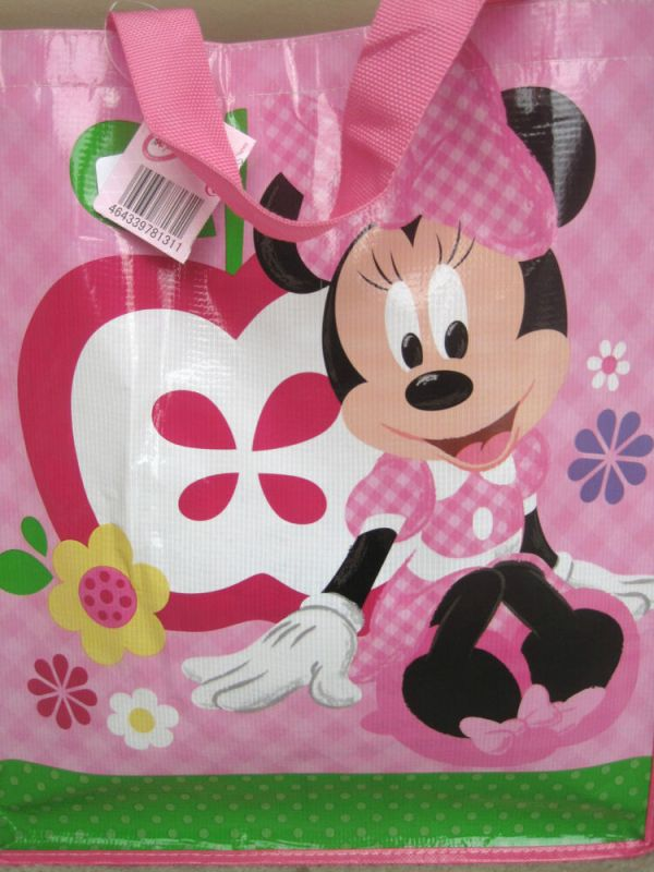 NEW Disney Minnie Mouse Toy Tote Bag Travel Shopping Bag ...