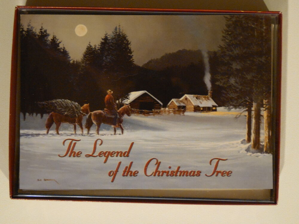 Leanin Tree The Legend Of The Christmas Tree Horse