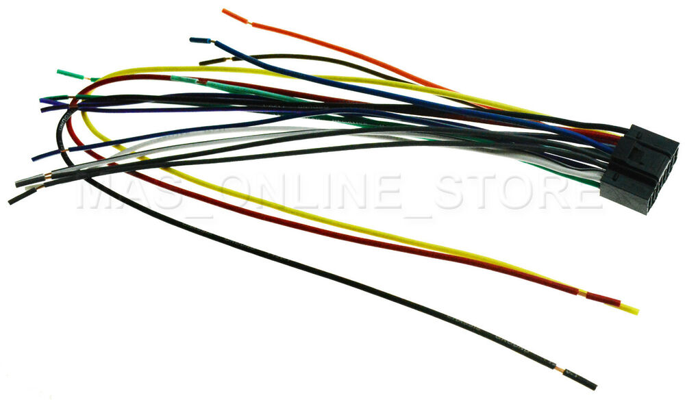 WIRE HARNESS FOR JVC KD-R660 KDR660 *PAY TODAY SHIPS TODAY