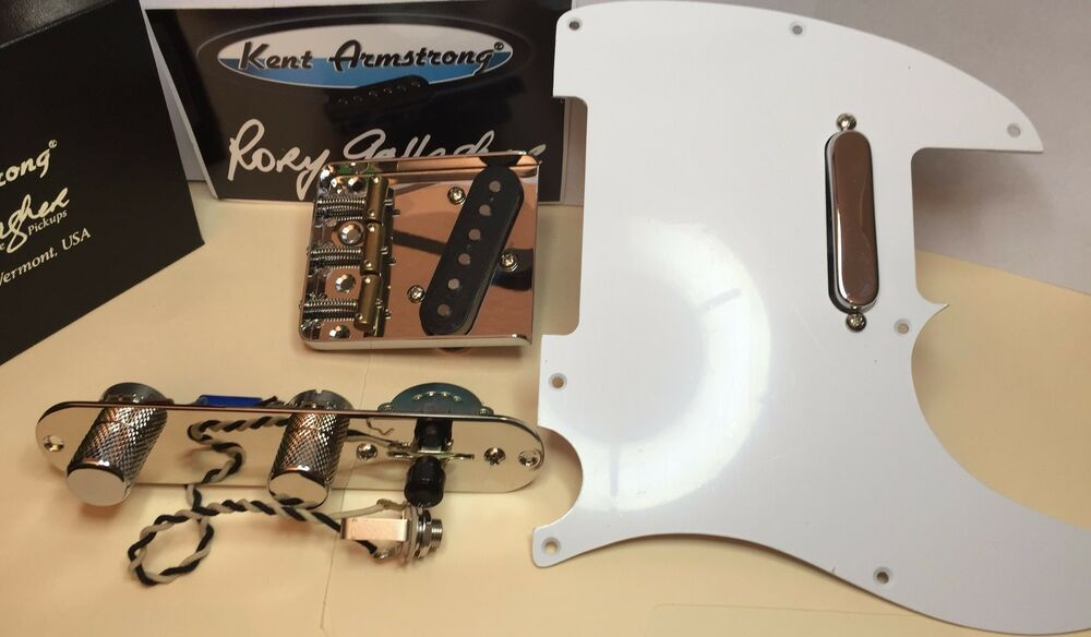 Rory Gallagher 1959 Esquire/ 1966 Telecaster Wiring And