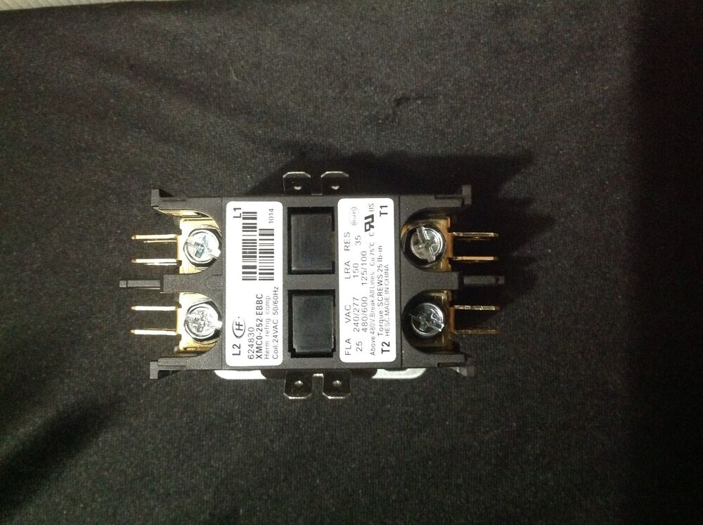 2 Pole Contactor Relay Intertherm Electric