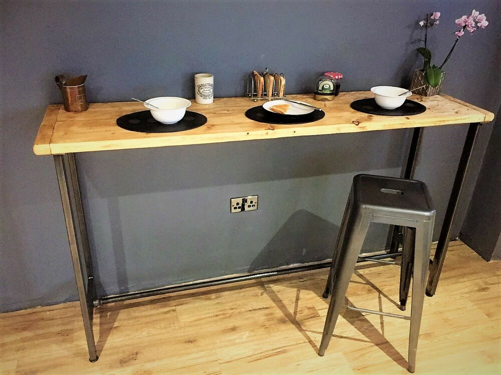 Breakfast Bar Table / Bistro Table/ Poseur Table