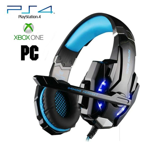 Pro Gamer PS4 Headset for PlayStation 4 Xbox One & PC ...