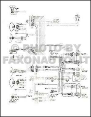 1979 Monte Carlo Malibu and Classic Wiring Diagram 79