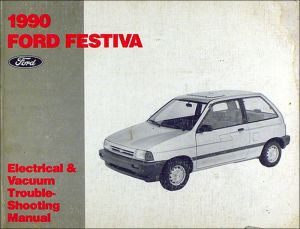 1990 Ford Festiva Factory Electrical and Vacuum Troubleshooting Manual 90 OEM | eBay