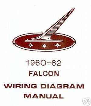 196062 FORD FALCON WIRING DIAGRAM MANUAL | eBay