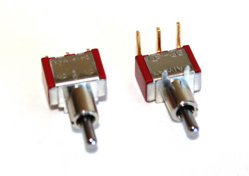 Mini Toggle Switch Pcb Mount 3 Position On Off On