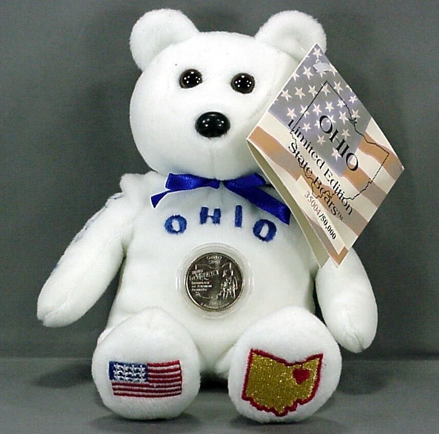 PISH STATE BEARS COLLECTION OHIO W STATE QUARTER Amp TAGS