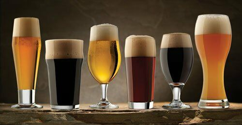 Libbey Glass 80681 6- Piece Craft Brew Beer Tasting ...