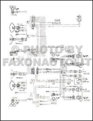 1985 GMC Safari Chevy Astro Van Wiring Diagram Original