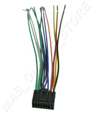 WIRE HARNESS FOR JVC KDX50BT KDX50BT *PAY TODAY SHIPS