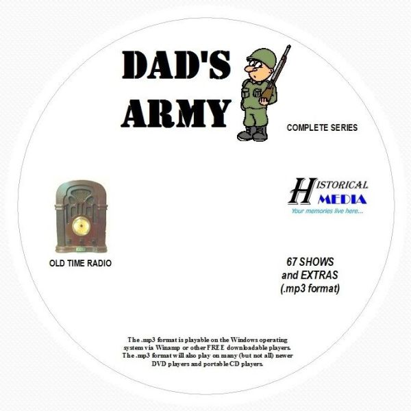 DAD'S ARMY - 67 Shows Old Time Radio In MP3 Format OTR 1 ...