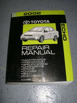 2002 Toyota ECHO service manual shop repair workshop | eBay