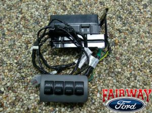 11 thru 16 Super Duty F250 F350 F450 F550 OEM Ford InDash Upfitter Switch Kit | eBay