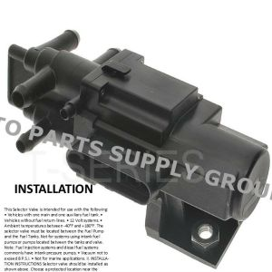 6 Port Fuel Gas Dual Tank Selector Valve Chevy Dodge Ford