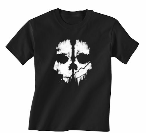 NEW Adult Call Of Duty Ghosts Skull Logo T Shirt Xbox One 360 Ps4 Ps3 COD Gamer EBay