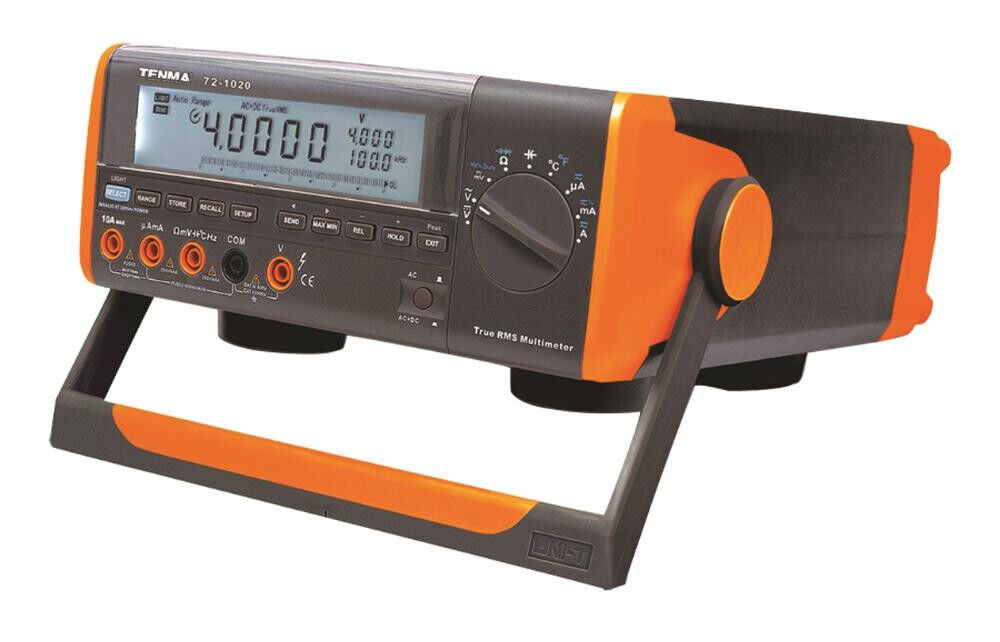 New Tenma True Rms Bench Top Digital Multimeter Lcd