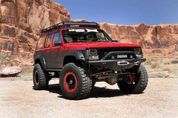 JEEP CHEROKEE XJ FENDER FLARES - WHEEL ARCH EXTENSIONS ...