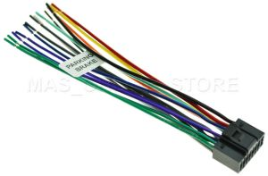WIRE HARNESS FOR JVC KDAVX44 KDAVX44 *PAY TODAY SHIPS