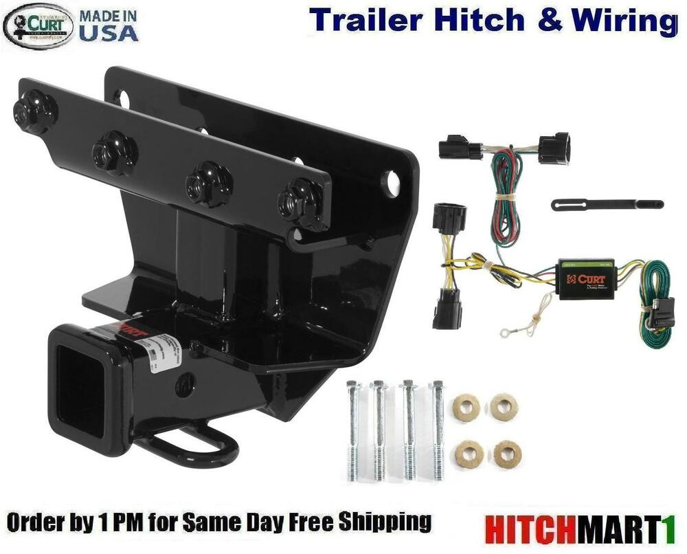 CURT TRAILER HITCH & WIRING FOR 2006-2010 JEEP COMMANDER