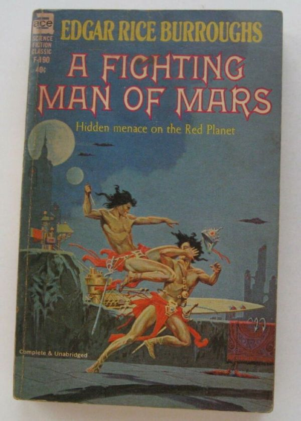 Paperback Sci Fi A Fighting Man Of Mars Edgar Rice ...