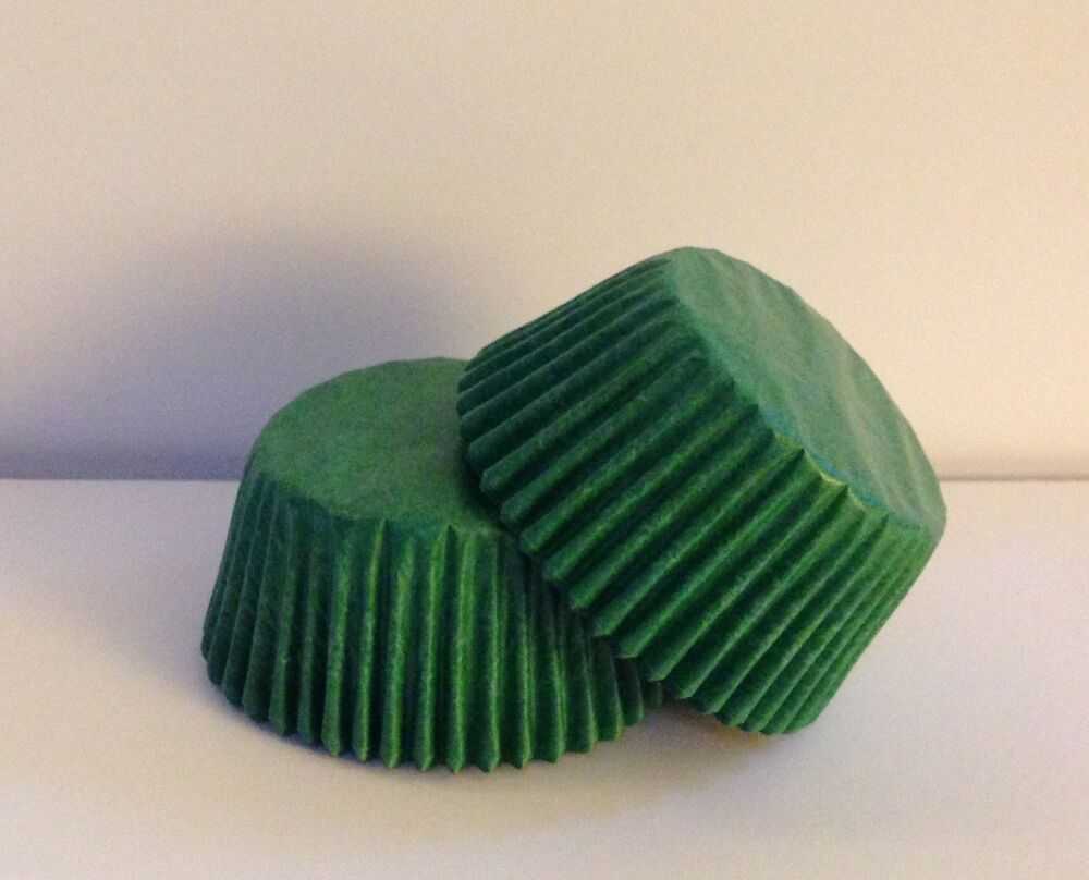 Glassine Green Standard Size Cupcake Liners - 75 Count