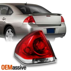 0613 Chevy Impala Replacement Red Clear Driver Left Tail