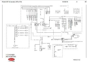 Before Oct 15, 2001 Peterbilt 387 Complete Wiring Diagram