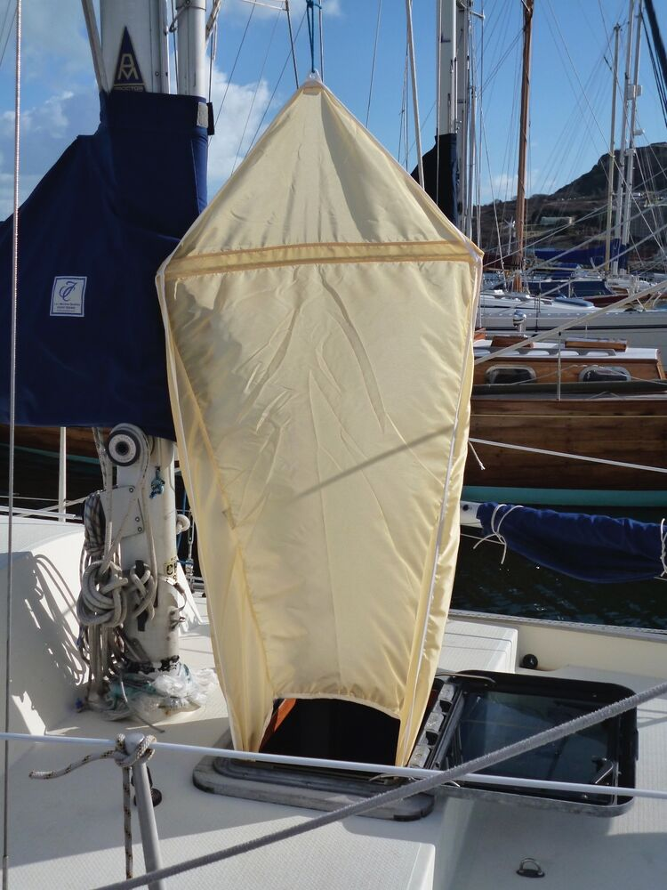AIR SCOOP HATCH VENTILATION WIND TROPICAL SAIL COOL AIRSCOOP CABIN YACHT BREEZE EBay