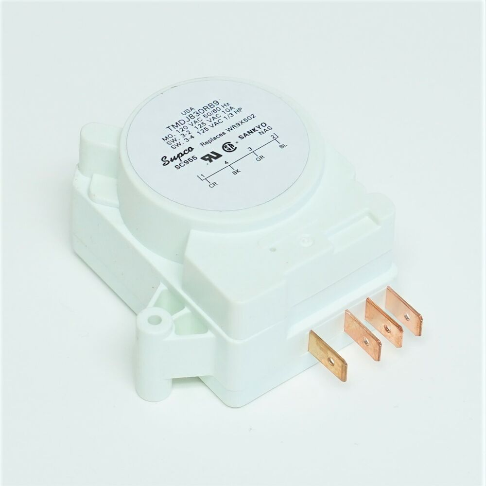 Wr9x502 For Ge Refrigerator Defrost Timer Control