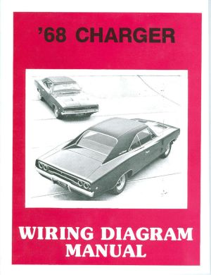 1968 68 DODGE CHARGER RT WIRING MANUAL | eBay