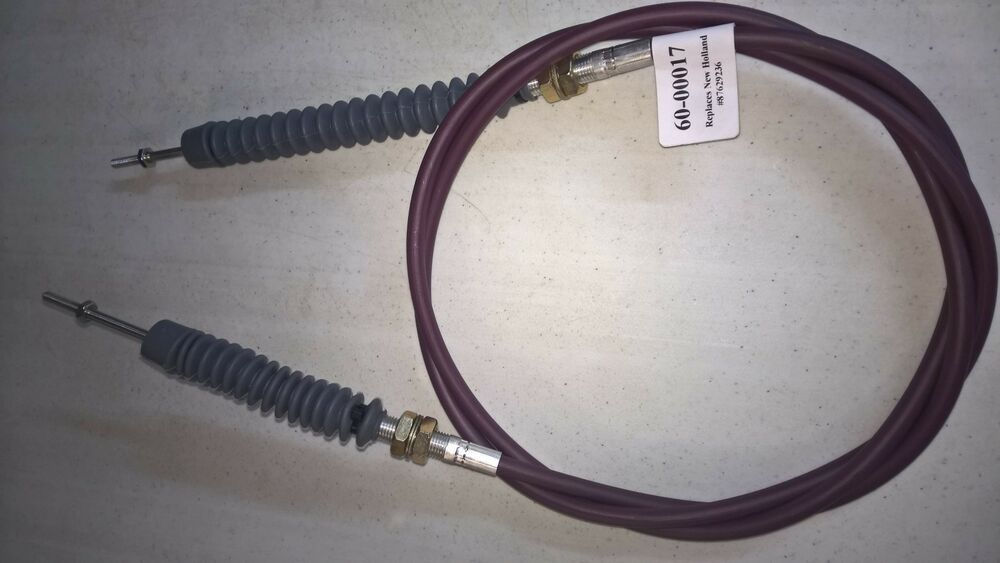 New Holland Throttle Cable L180 C185 L185 See Desc For