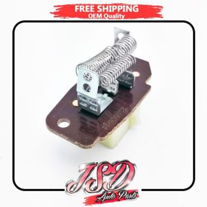 New Blower Motor Resistor AC Heater For Ford E150 E250 E