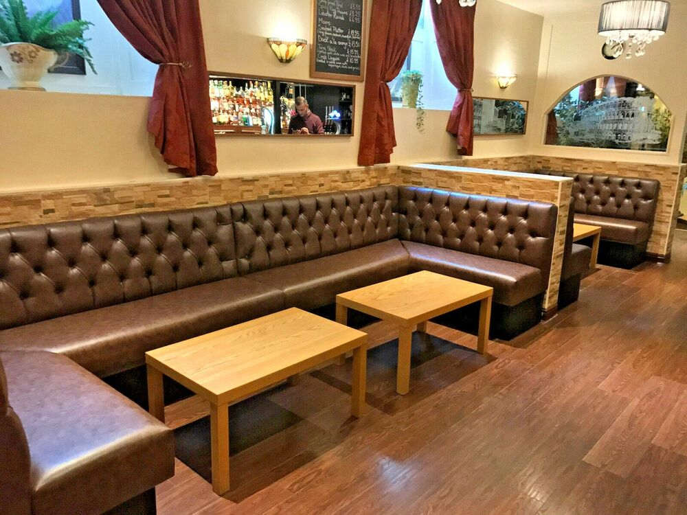 Bespoke Commercial Seating Booth Seating Banquet Bench