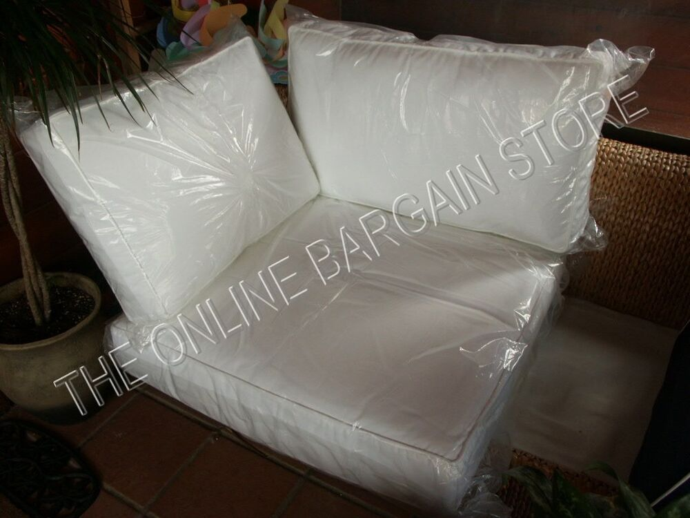3 Pc Pottery Barn Stratton Sofa Sectional Replacement