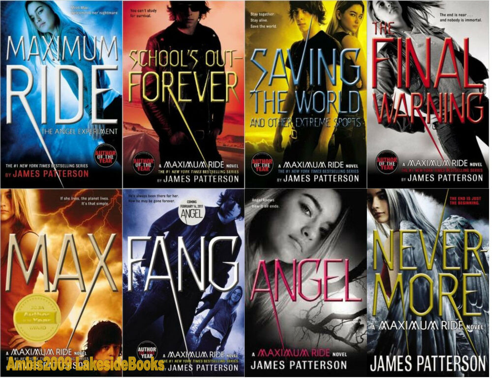 Image result for maximum ride series