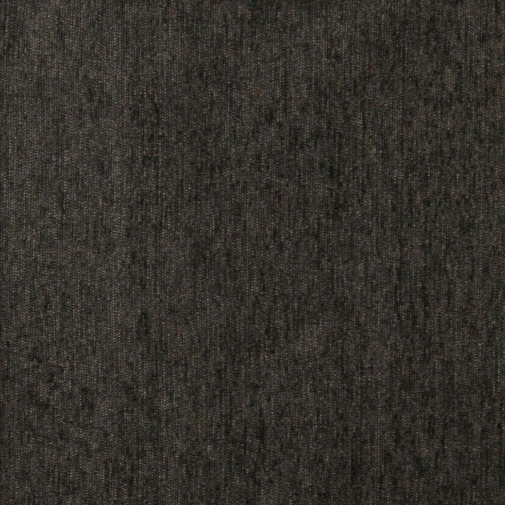A838 Charcoal Grey Solid Chenille Upholstery Fabric By The