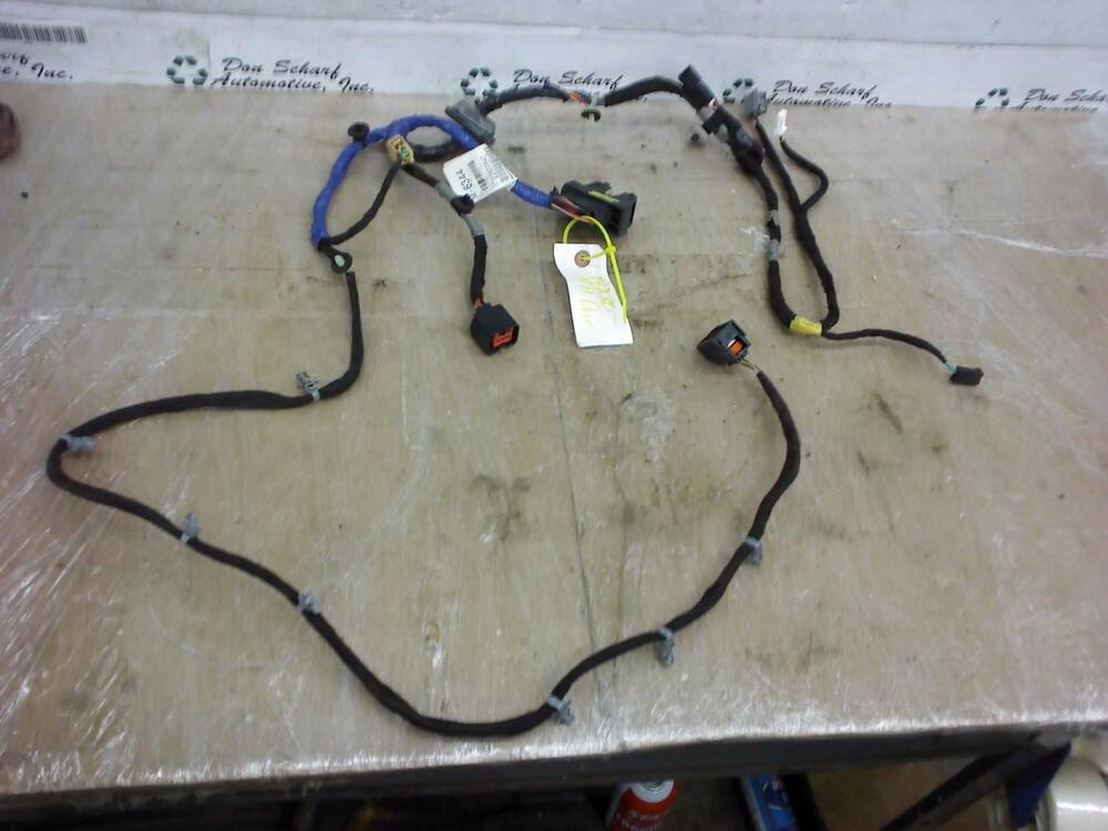 CHEVROLET CAMARO INTERIOR CHASSIS RIGHT DOOR Wiring