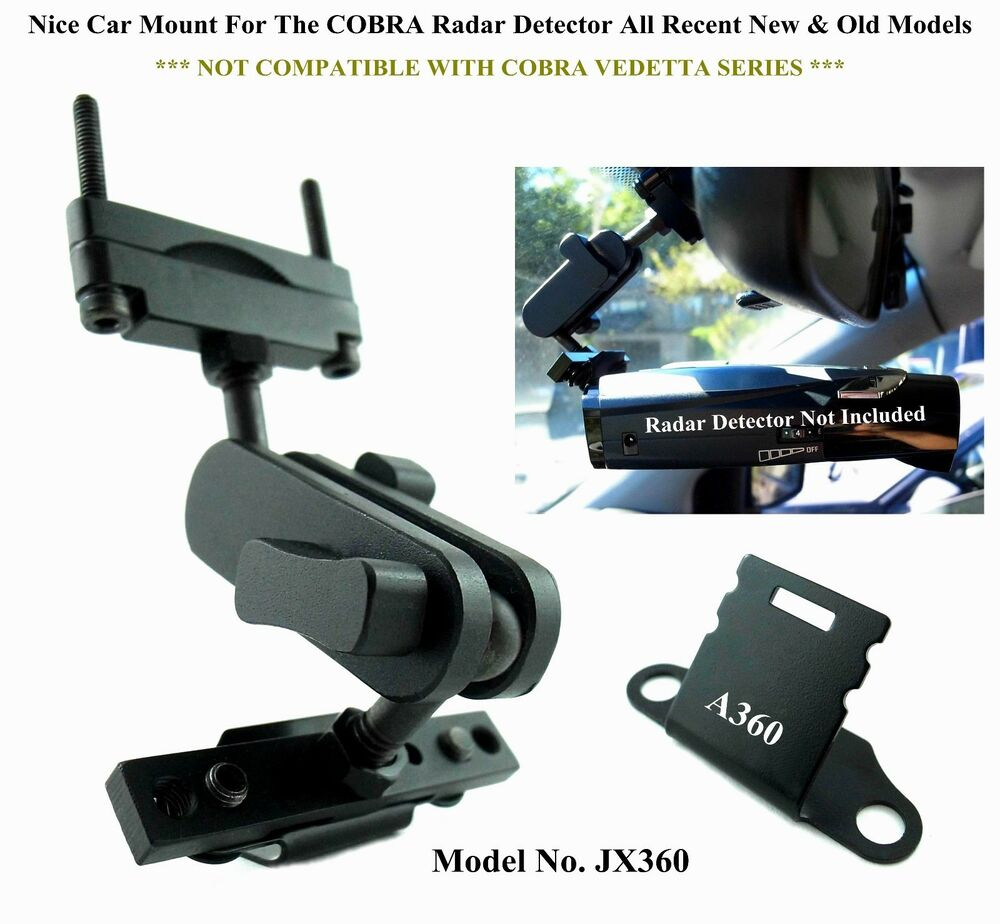 1 Set Nice Car Mount For The Rear Mirror COBRA Radar