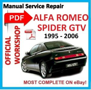 # OFFICIAL WORKSHOP MANUAL service repair FOR ALFA ROMEO