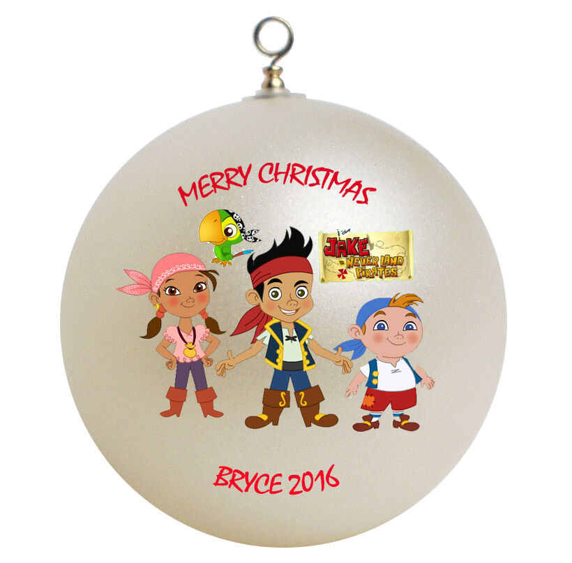 Jake And The Neverland Pirates Personalized Christmas