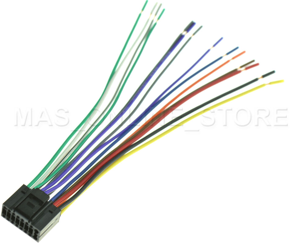 WIRE HARNESS JVC KD-S37 KDS37 *PAY TODAY SHIPS TODAY*