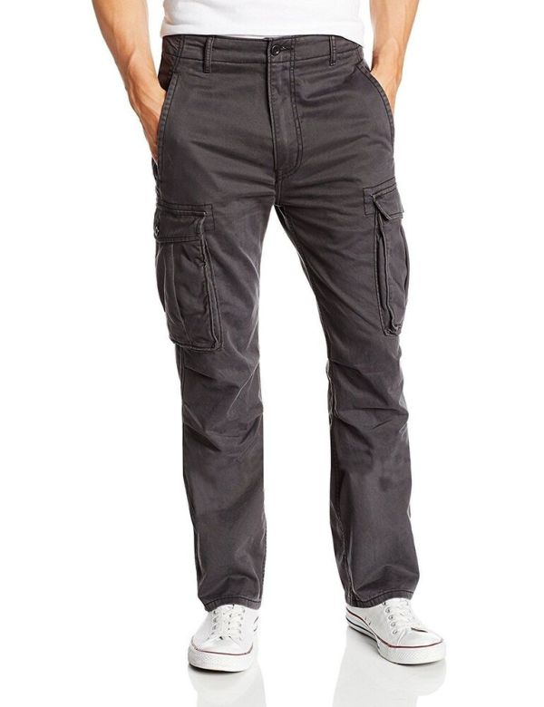 NEW NWT LEVI'S STRAUSS MEN'S ORIGINAL RELAXED FIT CARGO I ...