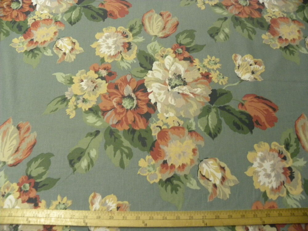 By The Yard Victorian Country Floral Drapery Home Decor
