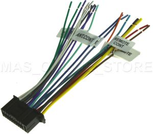 22PIN WIRE HARNESS FOR KENWOOD DDX6019 KVT512 KVT514