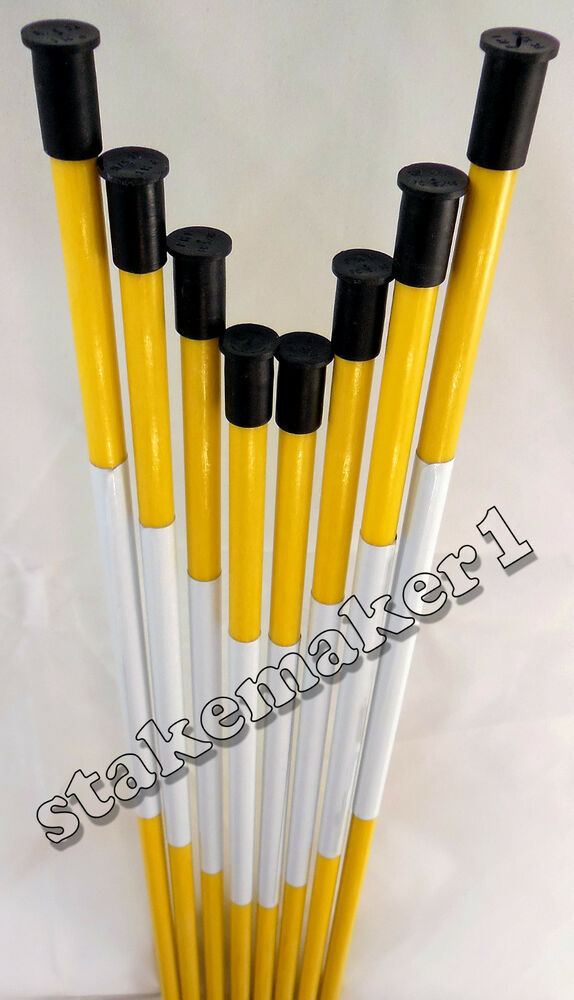 Driveway Markers Snow Stakes 100 Pack Of 48 Inch Long