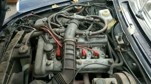 83 Alfa Romeo Spider 20 Engine Motor Assembly with manual